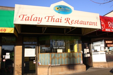 Talay Thai Restaurant Exterior